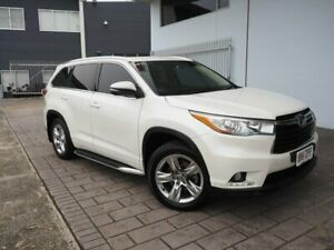 2016 Toyota Kluger GSU55R Grande AWD White 8 Speed Sports Automatic Wagon Springwood Logan Area Preview