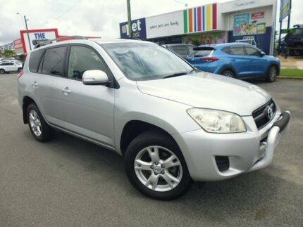 2009 Toyota RAV4 ACA33R MY09 Edge Silver 5 Speed Manual Wagon Bungalow Cairns City Preview