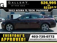 2012 Acura TL TECH PKG $219 bi-weekly APPLY NOW DRIVE NOW