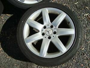 Mercedes 17 inch Wheels 255/40 tyres SL, E Class etc Samford Village Brisbane North West Preview