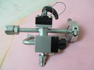 MKS baratron stem valve assembly 839-013515-001-B