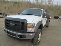 2008 Ford F-550 4WD XL CHASSIS CAB 162 WB