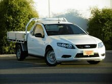 2009 Ford Falcon FG Super Cab White 5 Speed Sports Automatic Cab Chassis Melrose Park Mitcham Area Preview