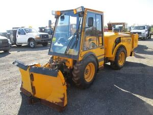 2012 MB Articulating Sidewalk Plow at Auction