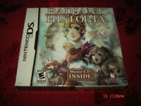 RADIANT HISTORIA LIMITED EDITION WITH CD NINTENDO DS RARE COMPL