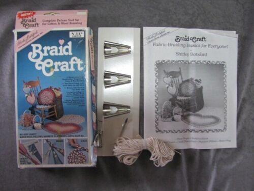 SHIRLEY BOTSFORD BRAID RUG CRAFT KIT- DELUX TOOL SET #81000- NEW UNUSED