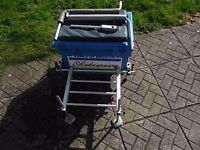 SHAKESPEARE TACKLE SEAT BOX&FOOT PLATFORM&LEGS