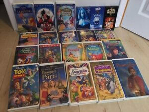 Disney, Star Wars, Mary-Kate and Ashley Olsen VHS Tapes