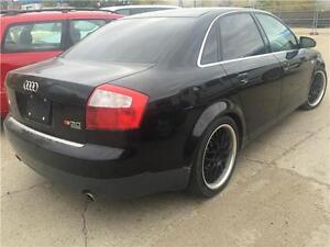 2003 AUDI A4 3.0 V6 SEDAN (BLACK , LOADED , GORGEOUS!!) WOW!