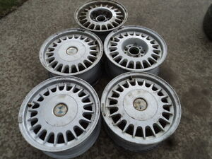 5 15 inch Alloy Rims for  BMW Vehicles