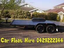 CAR TRAILER HIRE - CAR CARRIER CAR FLOAT TOWING Hornsby Hornsby Area Preview