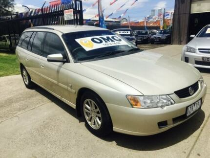 2004 Holden Commodore VY II Acclaim 4 Speed Automatic Wagon