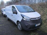 Vauxhall Vivaro 2900 1.6Cdti 115Ps L2 H1 Van DIESEL MANUAL WHITE (2014)