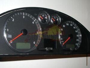 VW T5 2003 - 2009 / 4-teilig - ALU TACHORINGE / TACHO RINGE
