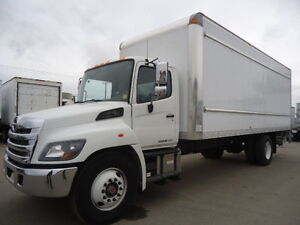 2017 HINO with 24' Van Body - TH21609