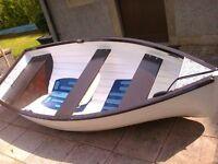 10 ft Fibreglass dinghy
