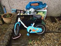 kids bike age 3-5 - needs repairs free to collect