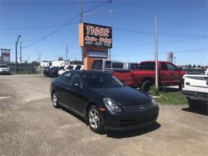 2003 INFINITI G35**LEATHER**SUNROOF***AS IS SPECIAL