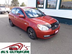2010 Hyundai Accent GL Coupe Manual only $69 bi-weekly!