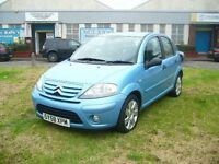 Citroen C3 1.6 HDi 16V Exclusive 5dr (blue) 2009
