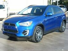 2015 Mitsubishi ASX XB MY15.5 LS (2WD) Blue Continuous Variable Wagon Strathpine Pine Rivers Area Preview