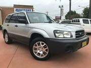 2005 Subaru Forester 79V MY05 X Weekender Silver 5 Speed Manual Wagon Richmond Hawkesbury Area Preview