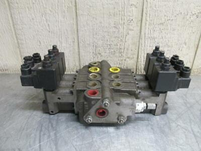 Prince Svw1ba-t11h Hydraulic Directional Control Valve 3 Spool Solenoid Operated