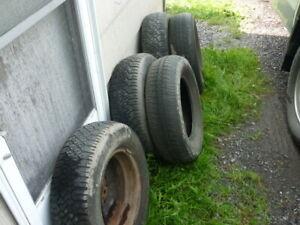 pneus usage
