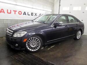 2010 Mercedes-Benz C250 4MATIC CUIR TOIT OUVRANT 57$/SEM