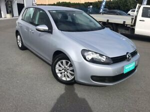2012 Volkswagen Golf VI MY12.5 90TSI DSG Trendline Silver 7 Speed Sports Automatic Dual Clutch Chinderah Tweed Heads Area Preview