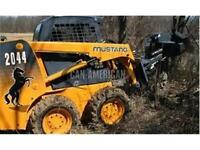 2014 MUSTANG 2044 SKIDSTEER LOADER BETTER THAN BOBCAT!
