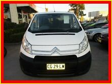 2008 Citroen Dispatch G9C White 6 Speed Manual Van North Parramatta Parramatta Area Preview