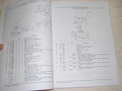 John Deere 1010 Crawler Parts Catalog Manual