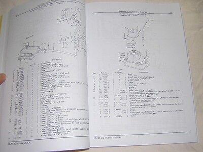 John Deere 1010 Crawler Parts Catalog Manual