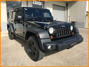 2012 Jeep Wrangler Unlimited JK MY12 Sport (4x4) Black 6 Speed Manual Softtop Blacktown Blacktown Area Preview