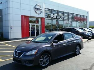 2013 Nissan Sentra SR WITH SPOILER SKIRT PKG