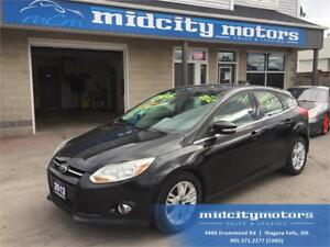 2012 Ford Focus SEL/ Sunroof/ Leather/ Heated seats!