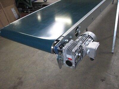 Förderband, Transportband, 8700 x 500 mm, PVC Gurt, Getriebemotor