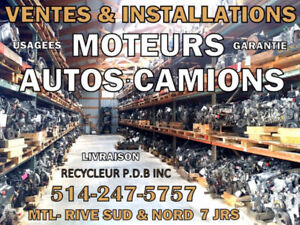 Moteur Acura Integra 1996 1.8L 6e VIN 4/7 LS 514-247-5757