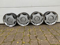 Mercedes C Class wheel trims. Unused and like new