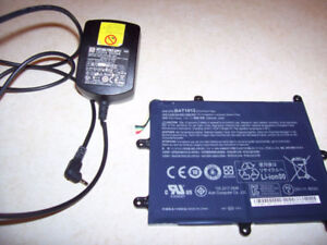 Acer Iconia Battery & Charger