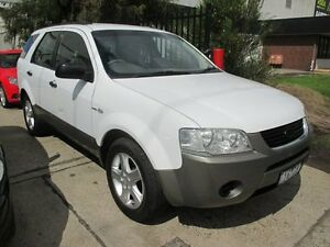 2005 Ford Territory SX TS AWD White 4 Speed Sports Automatic Wagon Tottenham Maribyrnong Area Preview
