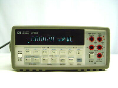 Hp Agilent 34401a Digital Multimeter