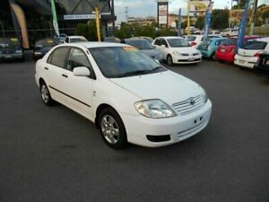 2006 Toyota Corolla ZZE122R Ascent White 5 Speed Manual Sedan Coorparoo Brisbane South East Preview