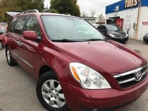 2007 Hyundai Entourage GLS w/Leather,dvd,CERTIFIED E-TEST