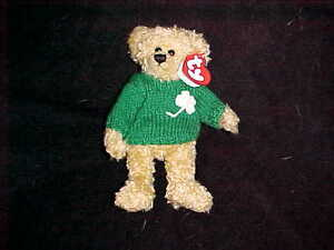 Blarney the Irish Bear Ty Attic Treasure stuffed animal Kitchener / Waterloo Kitchener Area image 1