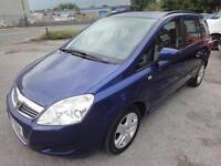 2009 Vauxhall Zafira Exclusive 1.9 CDTI Automatic 7 Seats