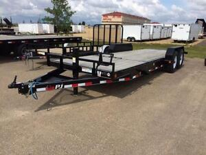 "20' x 6"" Channel Equipment Tilt Trailer - 14K GVWR (T6J)"