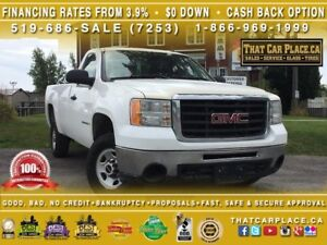 2009 GMC Sierra 2500HD WT-$66/Wk-HydrolicLift-2 Side Tool Boxes-
