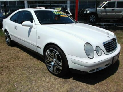 1999 Mercedes-Benz CLK320 C208 Elegance White 5 Speed Automatic Coupe